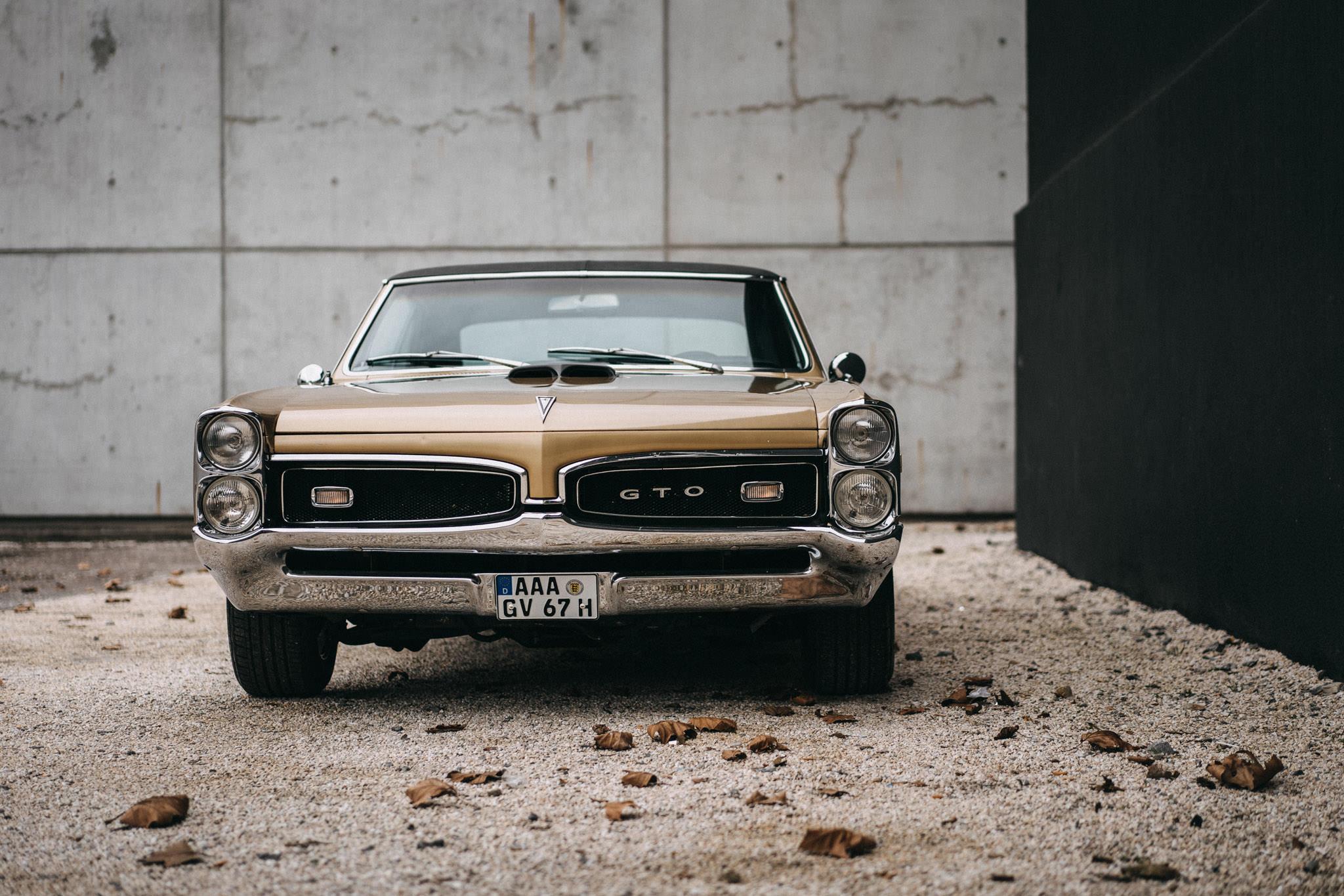 67er Pontiac GTO Stuttgart