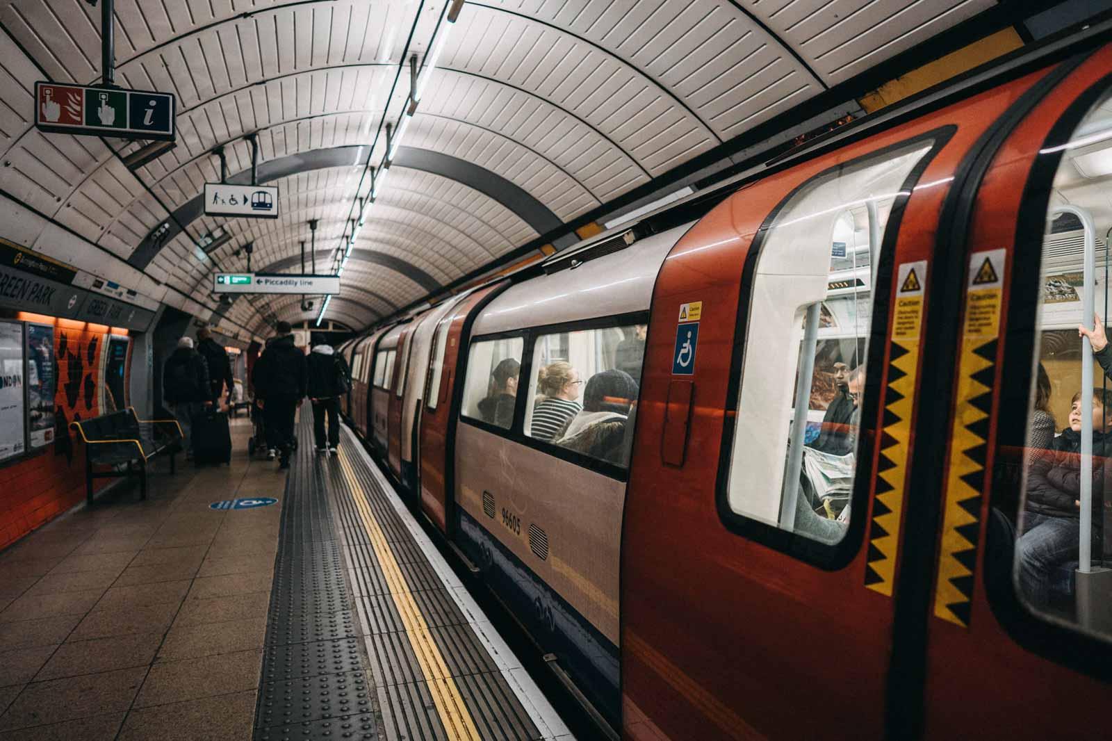 London U-Bahn