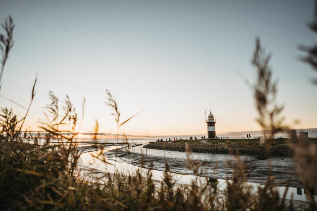 Ein Abend in Wremen an der Nordsee